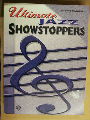 song book ULTIMATE JAZZ Showstoppers