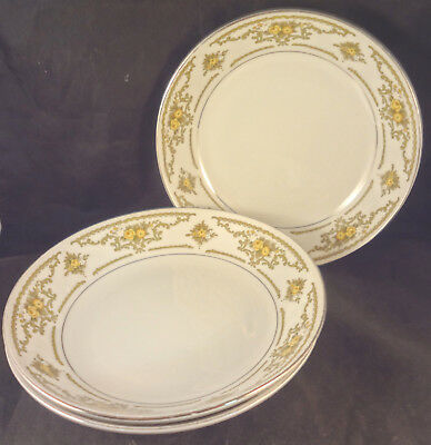 Ruth Fine China Of Japan Cereal / Soup Bowls (3)