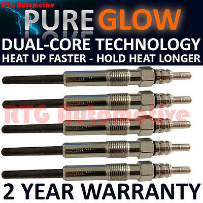 5X For Jeep Grand Cherokee 3.1 Diesel Heater Glow Plugs Gp74113