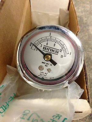 Binks Air Nozzle Test Gauge Assembly 54-3935 New