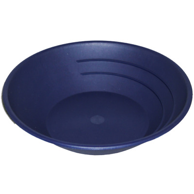 10 in Gold Panning Pan - Gold Pan Gold Nuggets Sleucing Blue - free shipping!