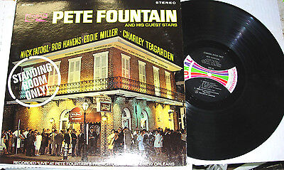PETE FOUNTAIN & HIS GUEST STARS, Standing Room Only  LP