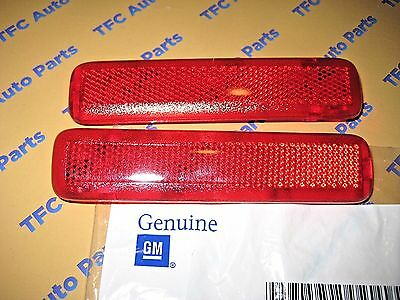 Chevy GMC Tahoe Escalade LH & RH Rear Door Reflector Lights