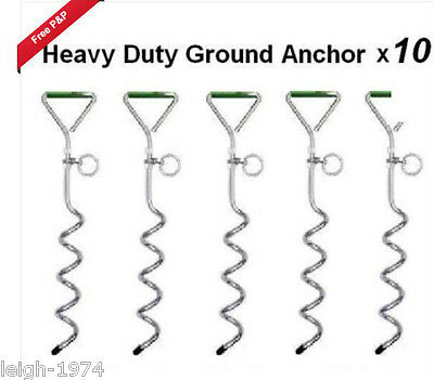 Christmas Party Gazebo Marquee Market Tie down stake anchor screw in peg x10