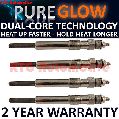 4X For Ford Fiesta Focus C-Max S-Max 1.8 Tdci Tddi Diesel Heater Glow Plugs