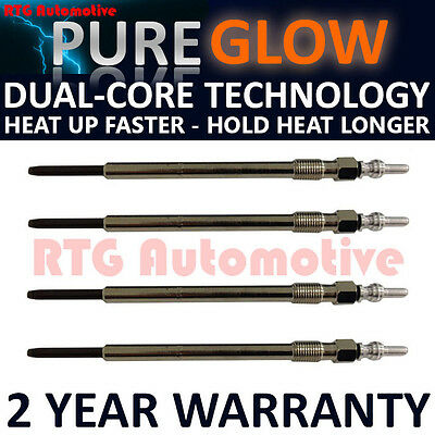 4X For Fiat Stilo Bravo Croma 1.9 Jtd Diesel Heater Glow Plugs Gp0703