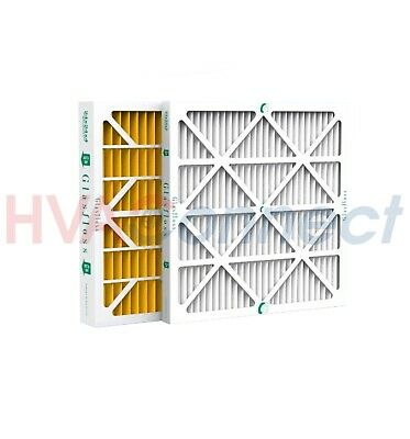 20x20x4 GLASFLOSS HIGH EFFICIENCY MERV 10 PLEATED FURNACE FILTERS - 3 PACK