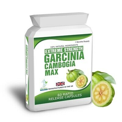 90 Garcinia Cambogia HCA Pure Detox Max Capsules Free Weight Loss Dieting Tips