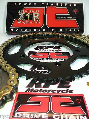 SUZUKI GSXR750 '06/10 JT GOLD X-Ring QUICK ACCELERATION CHAIN AND SPROCKETS KIT