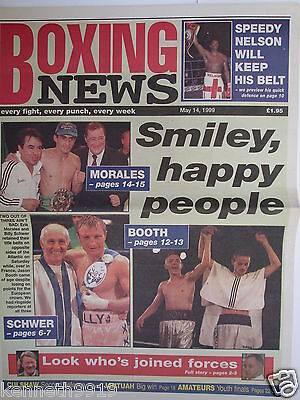 Boxing News 14 May 1999 Billy Schwer Erik Morales Johnny Nelson Jason Booth,