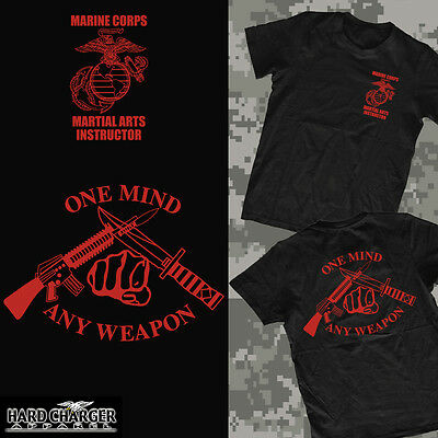 Marine Corps Martial Arts Instructor One Mind Any Weapon USMC outstanding shirt