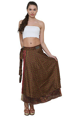 Art Silk saree skirts lot of 40 pcs in mix size - indiantrend
