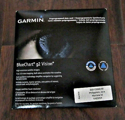 Garmin Bluechart G2 Vision – Philippines, Java, Mariana Isl Vae005R - Sealed