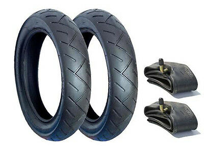 Set Of Tyres & Tubes For Quinny Buzz Pushchairs - Posted Free 1St Class