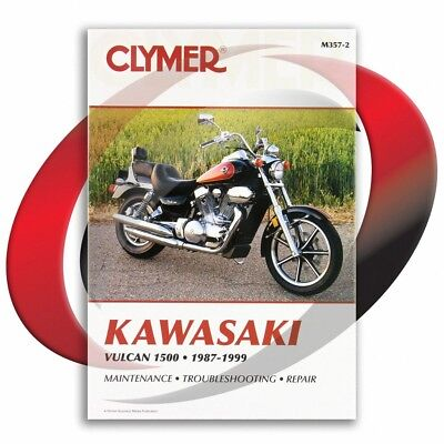 1996-1999 Kawasaki Vulcan 1500 A10-A13 Repair Manual Clymer M357-2 Service Shop