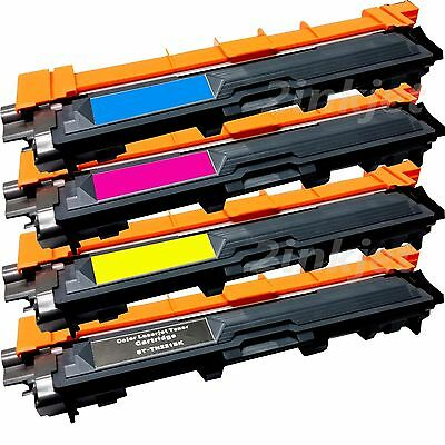 *4 Pack TN221 TN-225 Color Toner Set For Brother MFC-9130CW MFC-9330CDW MFC-9340