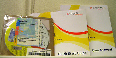 New Sealed Cd Software & Manuals For Siemens Sx66 Pocket Pc Phone