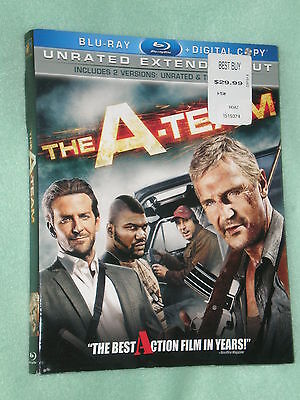 PRISTINE The A-Team WIDESCREEN Blu-ray 2-Disc Set Unrated Extended COMBO Sleeve