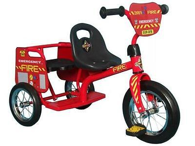 NEW FIRE EMERGENCY BIKE FOR 2 KIDSTRIKE (Age 3+ And Easy Adult ASSEMBLY)
