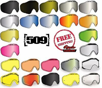 25fd3f0022 509 Sinister X5 Goggle Replacement Lens Dual Pane Anti Fog Snowmobile Snow  Ski