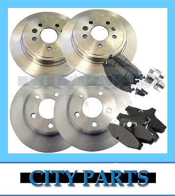 Brand New Ba Bf Ford Falcon Front & Rear Disc Rotors + Brake Pads - High Quality