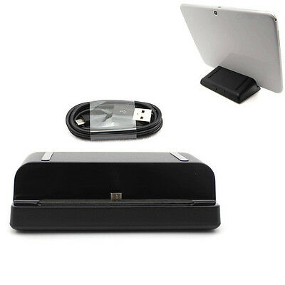 USB Sync Charger Cradle Dock Station&Cable for Samsung Galaxy Tab 3 7.0/8.0/10.1