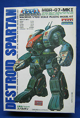 Robotech Macross Destroid Spartan Model Kit 1:100 Japan Vintage 1980's Arii NIB