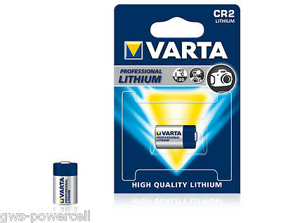 2 x VARTA PHOTO PROFESSIONAL CR2 CR 2 Foto-Batterie 3V 920 mAh CR 15 H270