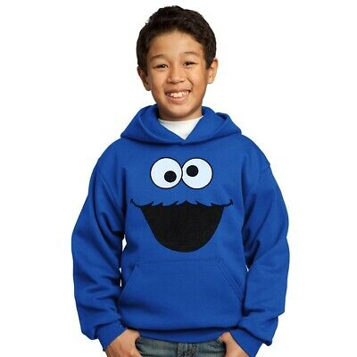 Cookie Monster Face Youth Hoodie New