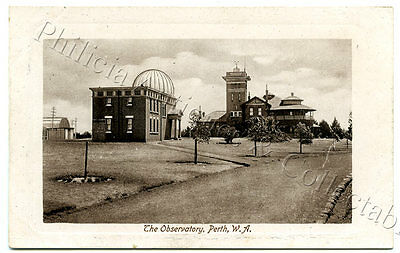 C1910 Pt Npu Postcard The Observatory Perth Wa Falk Publisher D56