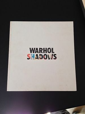 "Rare Art Book ""Warhol Shadows"""