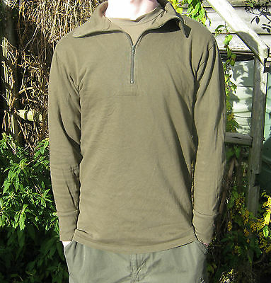 German Army Norgie Thermal Undershirt Vest Norgi Military Surplus Tight Fit Warm