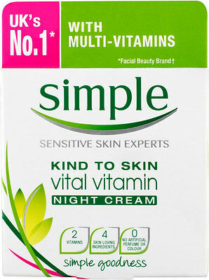Simple Kind to Skin Vital Vitamin Night Cream (50ml)
