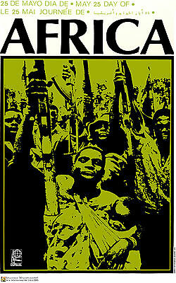 Political POSTER.Power to African People.Namibia Africa.No Apartheid art.a19