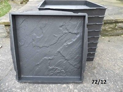 10 PCS CONCRETE PAVING MOULDS –  10 new moulds various types and sizes