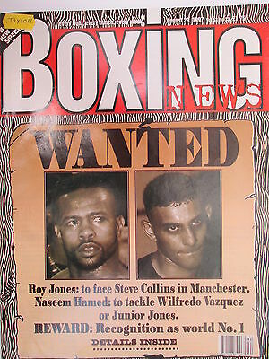 Boxing News  29 Aug 1997 Jones Hamed Bernard Paul Paul Burke Tania Follett,