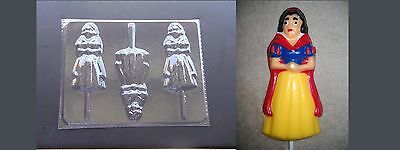 SNOW WHITE PRINCE CHARMING Lollipop Chocolate Candy Soap Mold