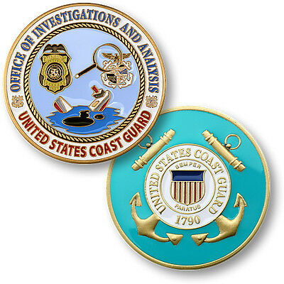 USCG Office of Investigations and Analysis Challenge Coin US Coast Guard
