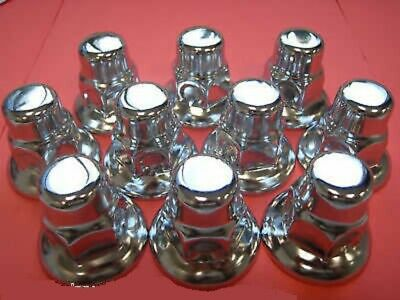 6  Packets Of 10 Chrome Wheel Nut Covers 32Mm  To Suit Daf (0003-Zdfbp)