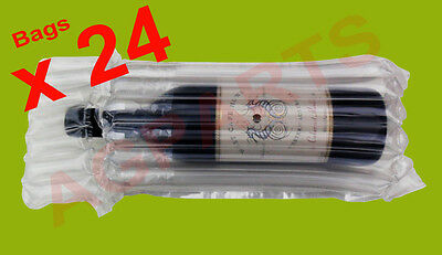 Inflatable Air Packaging  Protective  Bubble Pack  Wrap Bag For Wine Bottle X 24