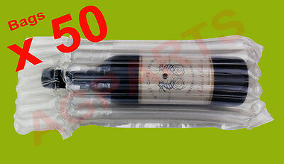 Inflatable Air Packaging  Protective  Bubble Pack  Wrap Bag For Wine Bottle X 50