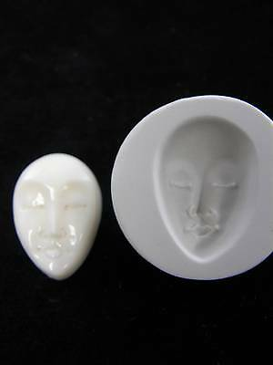 Face Polymer Clay Push Mold (#MD1072)