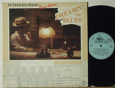 Dr. Dixie Jazz Band + Renzo Arbore : Dreamin' The Blues   -   Lp 1986