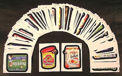 2013 Topps Wacky Packages ANS11 Series 11 COMPLETE BASE SET of 55 stickers nm+