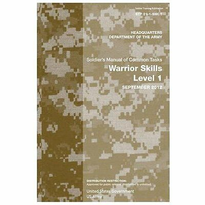 Soldier Training Publication Stp 21-1-Smct Soldier's Manual of Common Tasks Warr