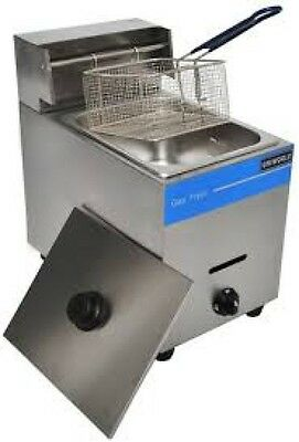 New Uniworld Countertop Gas Fryer Ugf-71 Lpg Propane