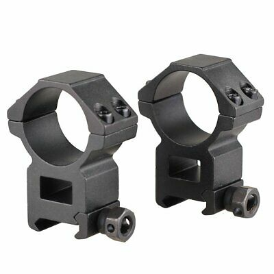 Sun Optics 30mm Black Rifle Scope Rings .High 9.5-13mm Dovetail..