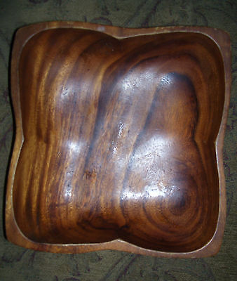 old wooden bowl ...hand carved wooden bowl