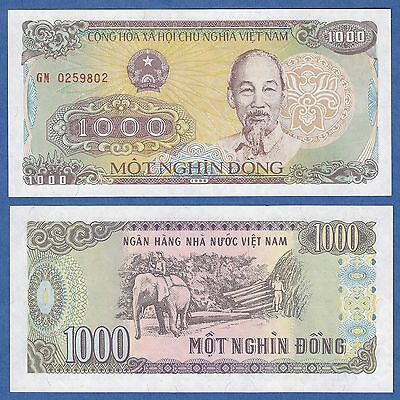 Vietnam 1000 Dong P 106 a 1988 UNC Viet Nam Low Shipping! Combine FREE! (P-106a)