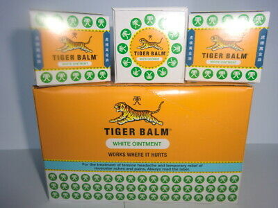 Tiger Balm  PACK OF 3   x 21ml  -SPECIAL PRICE FRESH STOCK  Expiry  2022